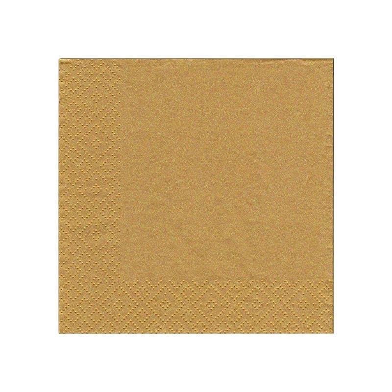 Guld kaffeserviet 20 stk