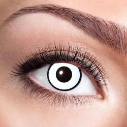 Hvide Marilyn Manson kontaktlinser 12 mdr