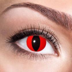 Røde katte øjne kontaktlinser 12 mdr