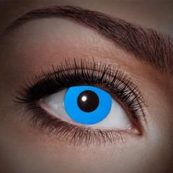 Blå UV kontaktlinser 12 mdr