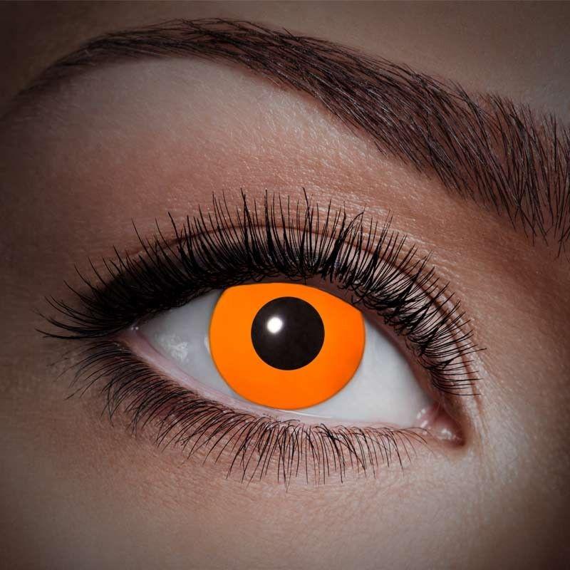 Orange UV kontaktlinser 12 mdr