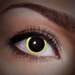 Gul kant UV kontaktlinser 12 mdr