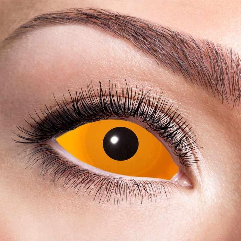 22 mm kontaktlinser orange 6 mdr