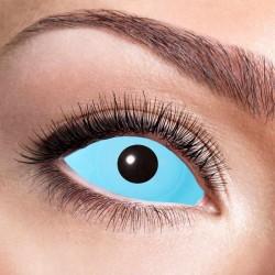 Kontaktlinser frost blå