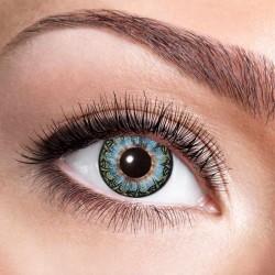 Sorte alfe øjne kontaktlinser 12 mdr