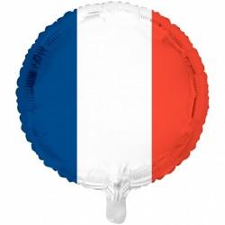 Folieballon Frankrig. 46 cm