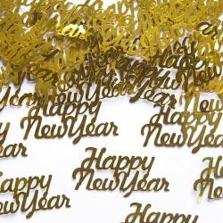 Nytårs konfetti Happy New Year til nytårsaften