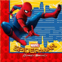 20 stk Servietter Spiderman Homecoming