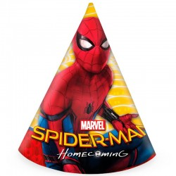 6 stk festhatte Spiderman Homecoming