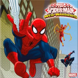 Ultimate Spiderman Web Warriors Servietter