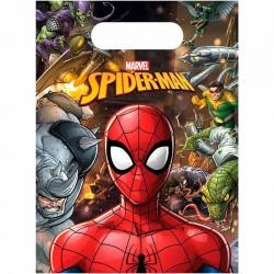 Slikposer Spiderman Team Up 6 stk.