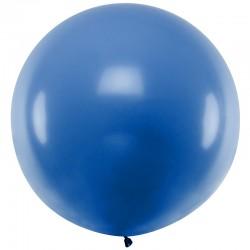 Blå Stor Ballon 1 m
