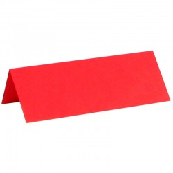 Glaskort rød 10 stk.
