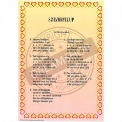 Sølvbryllups sang 1