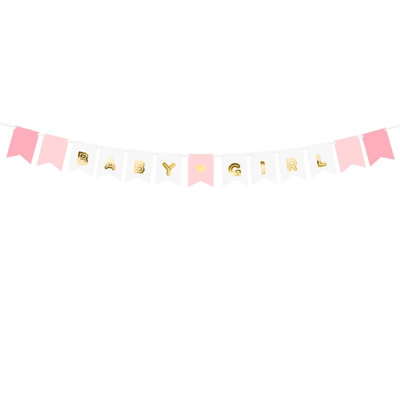 Banner Baby Girl. 160 cm