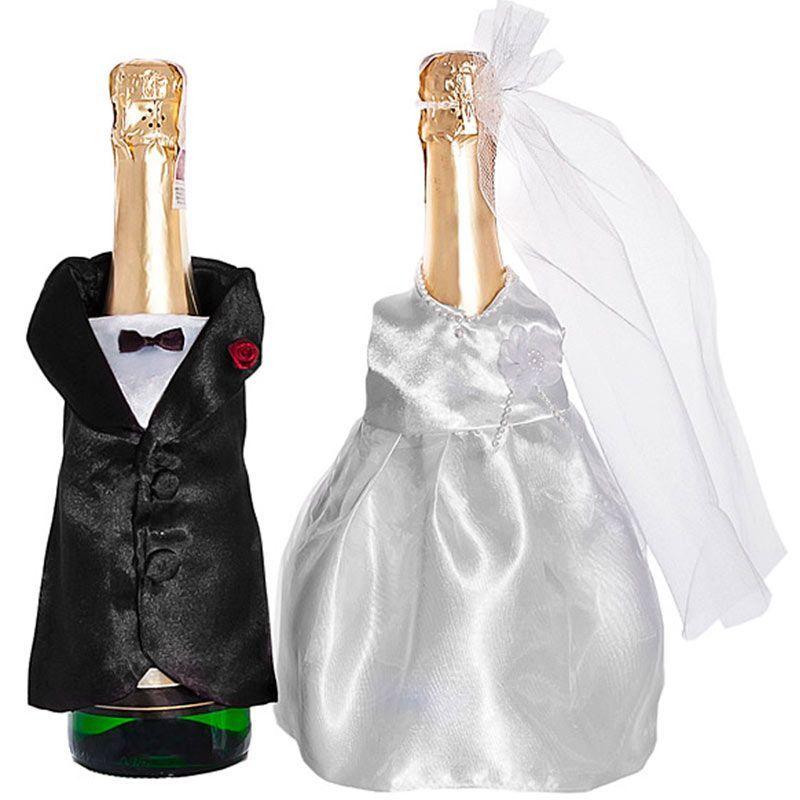 Pynt til champagneflaske.