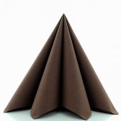 Airlaid-Tekstil serviet brun 40x40 cm