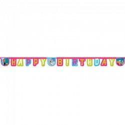 Frost Happy Birthday banner. 2,15m
