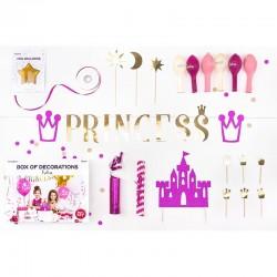 Prinsesse fødselsdags boks til fødselsdag