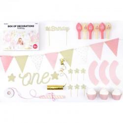 party boks til pige 1 års fødselsdag
