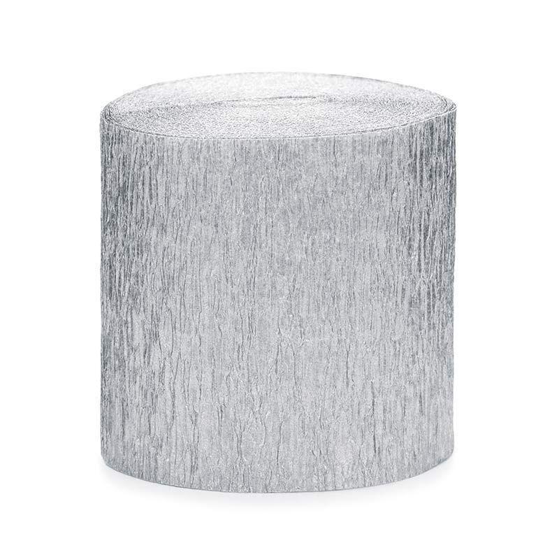 4 stk. Creperuller Sølv 5 cm x 10 meter