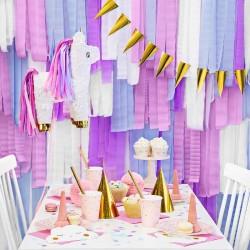 4 stk. Creperuller Lyseblå til børnefødselsdag