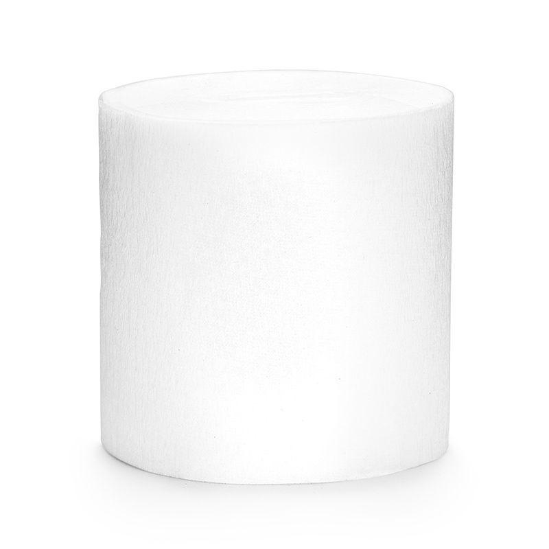 4 stk. Creperuller Hvid 5 cm x 10 meter