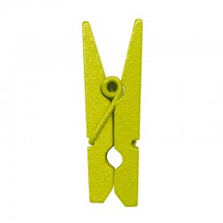 Lime mini klemme 2,5 cm. 24 stk