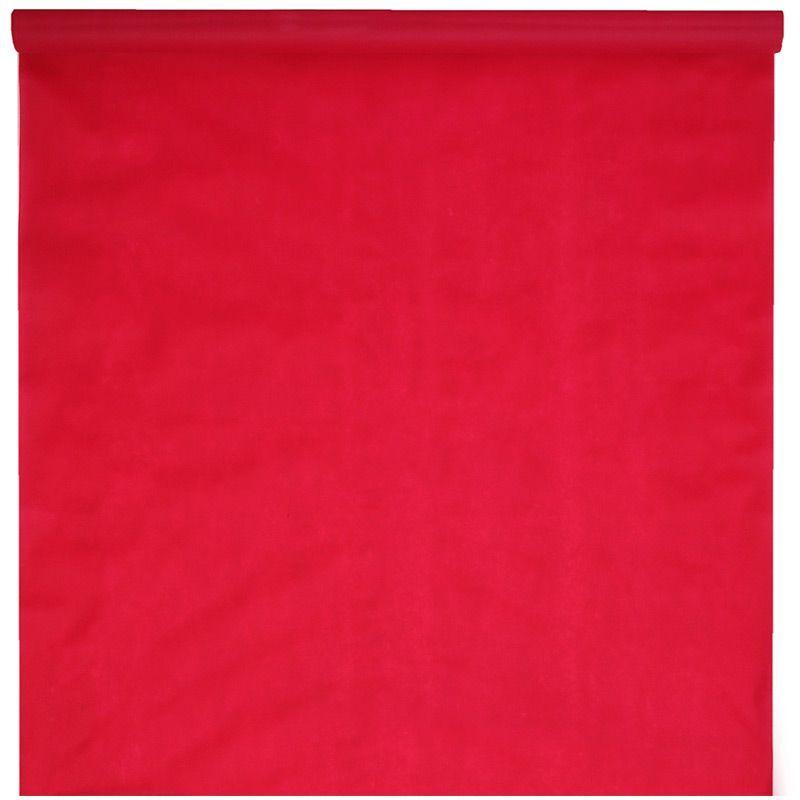 Rød gulvløber 15 meter x 100 cm