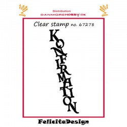 Clear stamps konfirmation