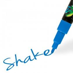 Shake tusch blå fin 2,5 mm