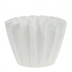 Hvid urtepotteskjuler Adonis 11 Cm