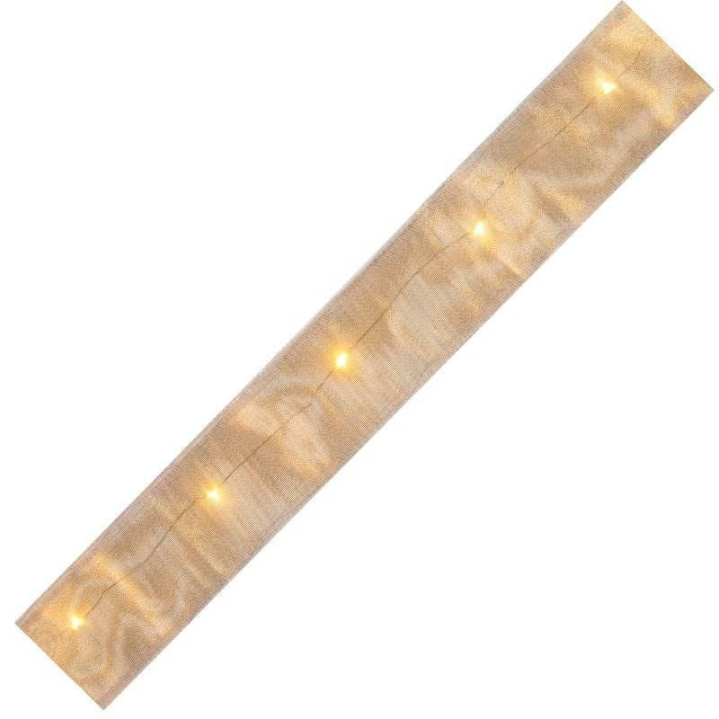 Led lysbånd guld