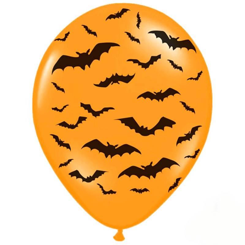 Balloner Halloween små flagermus
