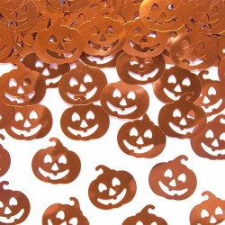 Konfetti Halloween græskar. 15 g