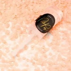 Fersken push pop konfetti