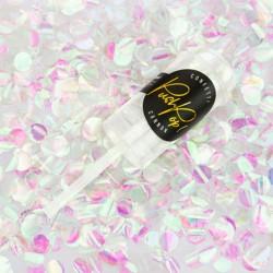 Iridescent push pop konfetti