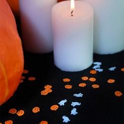 Halloween konfetti spøgelser bordpynt