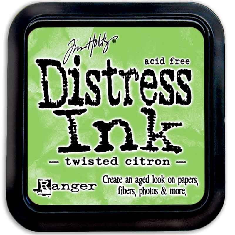 Stempelsværte twisted citron Distress Ink