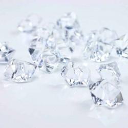 Klar krystal bordpynt