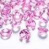 Lyserød diamant 20 mm. 10 stk