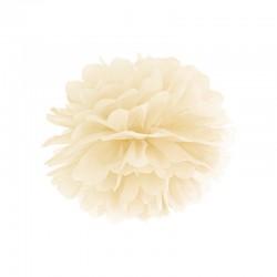 Creme Pom Pom 25 cm