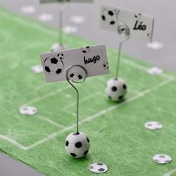 Glaskort med fodbolde fodboldfest