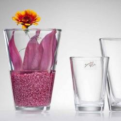 Lyserød dekorationssten til vase