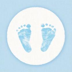 Kaffeserviet Baby steps lyseblå