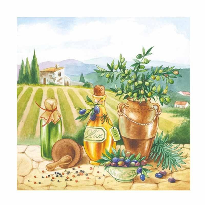 Servietter Toscana 20 stk