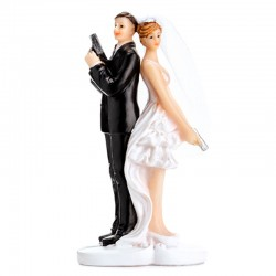 Topfigur Agent 007 og brud