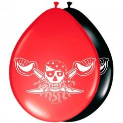 Ballon rød pirat