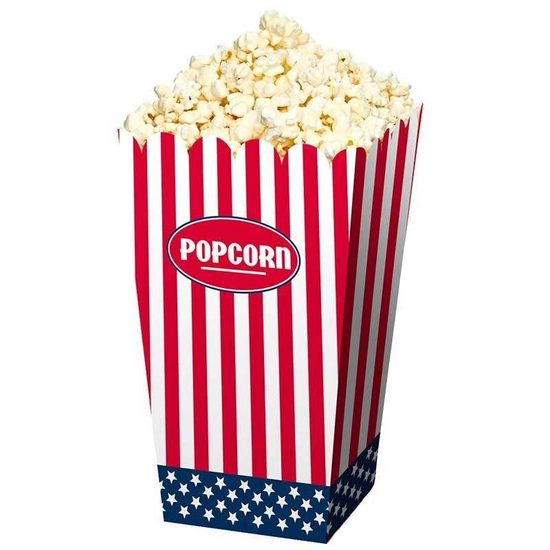 USA Popcorn bæger. 4 Stk