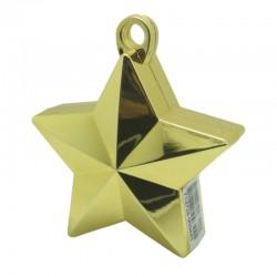 Guld stjerne ballonvægt 140 g
